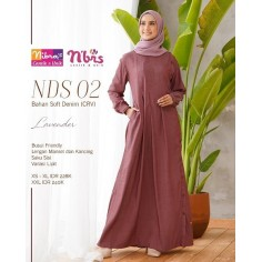 Gamis Nibras NDS 002 Lavender
