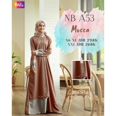 Gamis Nibras NB A53 Mocca