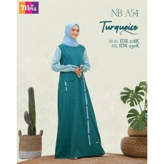 Gamis Nibras NB A54 Turquoise