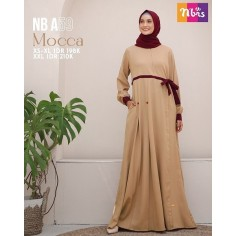 Gamis Nibras NB A59 Mocca