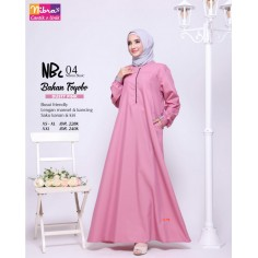 Gamis Nibras NBC 04 Dusty Pink