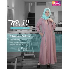 Gamis Nibras NBC 10 Dusty Pink